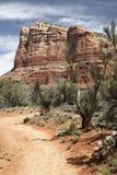 De woestijnbergen van Arizona van Sedona Stock Foto