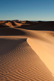 De woestijnerg van het zand Royalty-vrije Stock Afbeelding