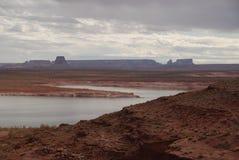 De woestijnlandschap van Arizona Royalty-vrije Stock Foto