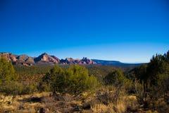 De woestijnlandschap van Arizona Stock Fotografie