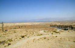 De woestijnlandschap van Israël royalty-vrije stock afbeelding