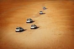 De woestijnsafari van de Sahara Stock Afbeelding