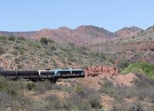 De woestijnscène van Arizona Stock Foto's