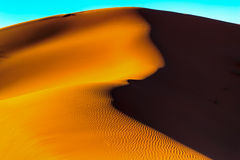 De woestijnzand van de Sahara Royalty-vrije Stock Foto's