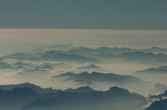 """De wolk †van Korfu """"cloudscape Stock Afbeelding"""