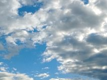 De wolk Stock Afbeelding