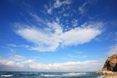 De wolk in de vorm van Phoenix Royalty-vrije Stock Fotografie
