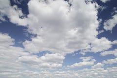 De wolk van de cumulus Royalty-vrije Stock Afbeeldingen