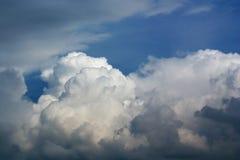 De wolk van de cumulus Royalty-vrije Stock Foto's
