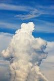 De wolk van de explosie Stock Foto