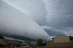 De wolk van de muur Stock Foto