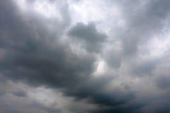 De wolk van de regen Stock Fotografie