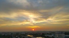 De wolk van het ochtendfluweel Royalty-vrije Stock Afbeelding