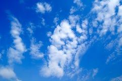 De wolken. Royalty-vrije Stock Fotografie