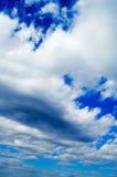 De wolken Stock Afbeelding