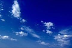 De wolken. Stock Afbeelding