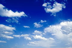 De wolken Royalty-vrije Stock Foto's