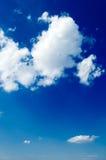 De wolken Royalty-vrije Stock Afbeeldingen