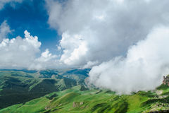 In de wolken Stock Afbeelding