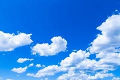 De wolken in de hemel Stock Fotografie