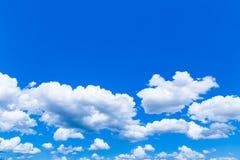 De wolken in de hemel Royalty-vrije Stock Fotografie
