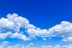 De wolken in de hemel Stock Afbeelding
