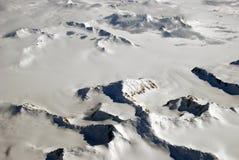 De wolken en de bergen van het ijs Royalty-vrije Stock Foto