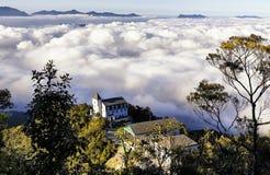 De Wolken van BaNaheuvels Stock Afbeeldingen