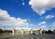 De wolken van Boedapest Royalty-vrije Stock Afbeeldingen