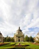 De wolken van Boedapest stock foto's