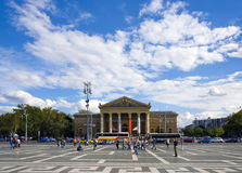 De wolken van Boedapest Stock Foto