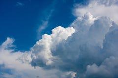 De wolken van Columbus Stock Afbeelding