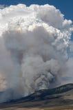 De Wolken van de brand Royalty-vrije Stock Afbeelding