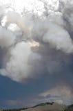 De Wolken van de brand Stock Afbeeldingen