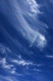 De Wolken van de cirrus royalty-vrije stock fotografie