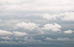 De wolken van de cumulus Stock Fotografie