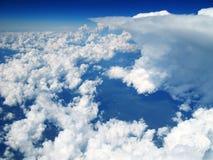 De Wolken van de cumulus Royalty-vrije Stock Afbeelding