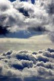 De wolken van de cumulus Stock Foto