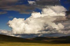 De wolken van de cumulus N3 stock foto's