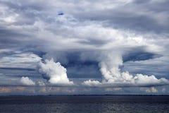 De Wolken van de donder Royalty-vrije Stock Afbeelding
