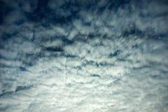 De wolken van de ochtend Stock Foto's