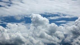 De wolken van de tijdtijdspanne stock video