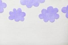 De Wolken van Felted Royalty-vrije Illustratie