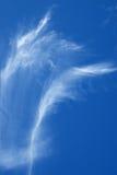 De wolken van het onduidelijke beeld Stock Foto's