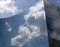De wolken van het werk Stock Afbeelding