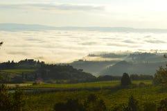 De Wolken van Toscanië Royalty-vrije Stock Fotografie