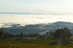 De Wolken van Toscanië Royalty-vrije Stock Afbeelding