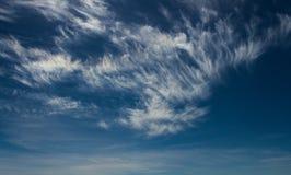 De wolken van Wispy Royalty-vrije Stock Foto's