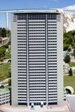 De Wolkenkrabber Milan Italy Mini Tiny van de Pirellitoren Stock Foto's