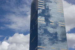 De Wolkenkrabber van Brussel Royalty-vrije Stock Foto